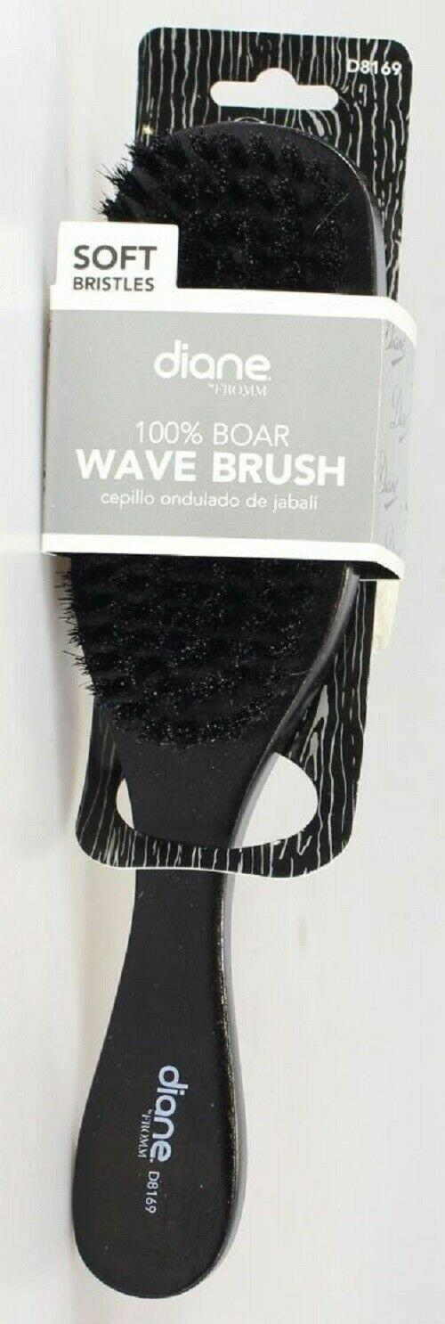 DIANE 100% BOAR WAVE BRUSH - SOFT BRISTLES #D8169