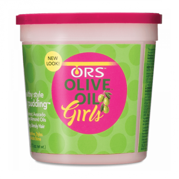 ORS OILIVE OIL GIRLS HAIR PUDDING 13oz