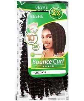 "BESHE BOUNCE CURL CBC.2X19 10"" #1B"