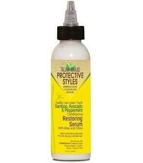 TALIAH WAAJID PROTECTIVE STYLES BAMBOO, AVOCADO & PEPPERMINT RESTORING SERUM 4oz