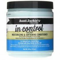 AUNT JACKIE'S CURLS & COILS IN CONTROL MOISTURIZING & SOFTENING CONDITIONER 15oz