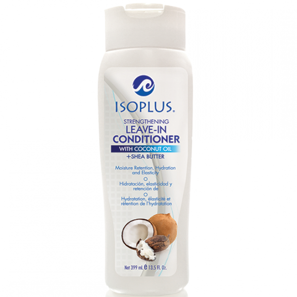 ISOPLUS STRENGTHENING LEAVE-IN CONDITIONER WITH COCONUT OIL 13.5oz