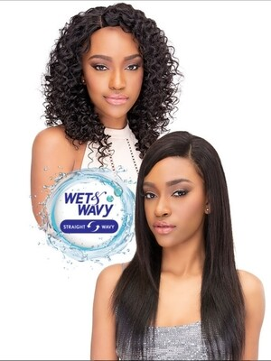 JANET COLLECTION AQUA TRESS WET & WAVY DEEP WAVE 3PCS (16