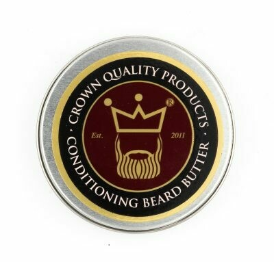 CROWN QUALITY PRODUCTS BEARD BUTTER 4oz