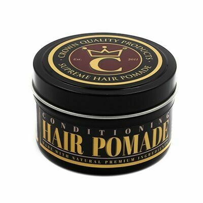 CROWN QUALITY PRODUCTS SUPREME HAIR POMADE 4oz