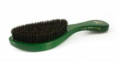 CROWN QUALITY 360 GOLD CROWN WAVE BRUSH MEDIUM-SOFT #777 - GREEN