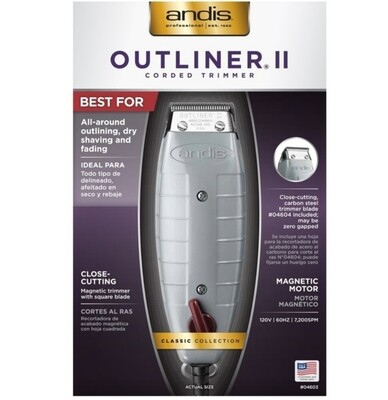 ANDIS OUTLINER II TRIMMER #04603