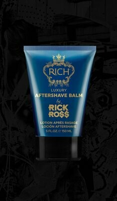 RICH BY RICK ROSS LUXURY AFTERSHAVE BALM 5oz
