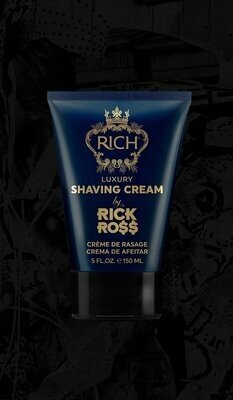 RICH BY RICK ROSS LUXURY SHAVING CREAM 5oz