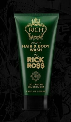RICH BY RICK ROSS LUXURY HAIR & BODY WASH 8.45oz