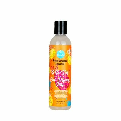 CURLS POPPIN PINEAPPLE COLLECTION SO SO DEF VITAMIN C CURL DEFINING JELLY 8oz