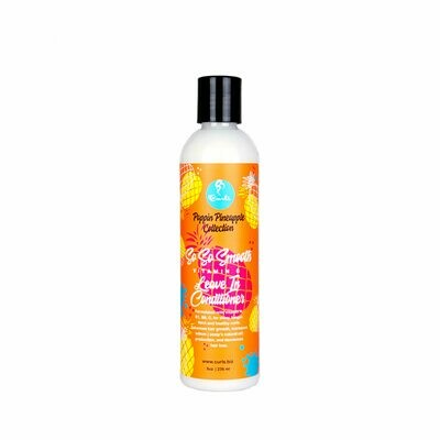 CURLS POPPIN PINEAPPLE COLLECTION SO SO SMOOTH VITAMIN C LEAVE IN CONDITIONER 8oz