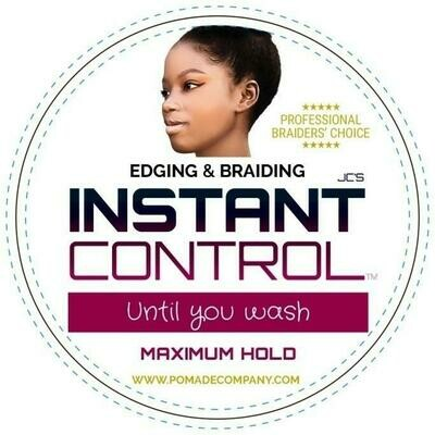 JC'S INSTANT CONTROL EDGE & BRAID GEL 4oz - MAXIMUM HOLD