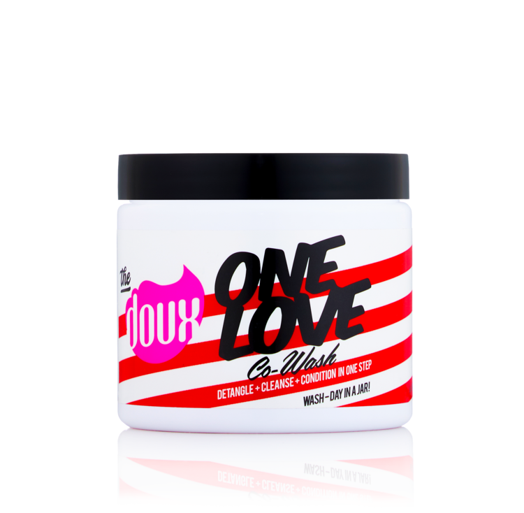 THE DOUX ONE LOVE CO-WASH 16 oz
