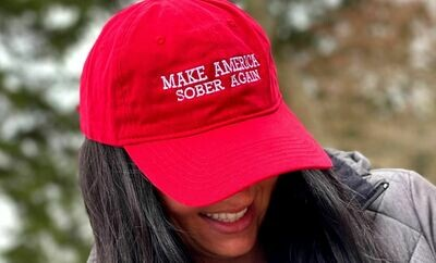 Make America Clean/Sober Again Hat