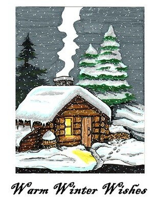 Warm Winter Wishes - Boxed Cards