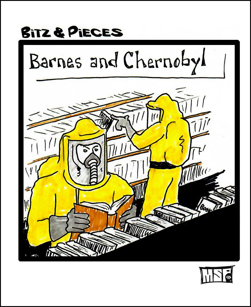 Barnes & Chernobyl - Blank - Single Card