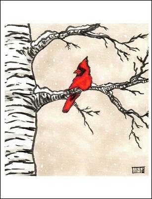 Cardinal - Single Card