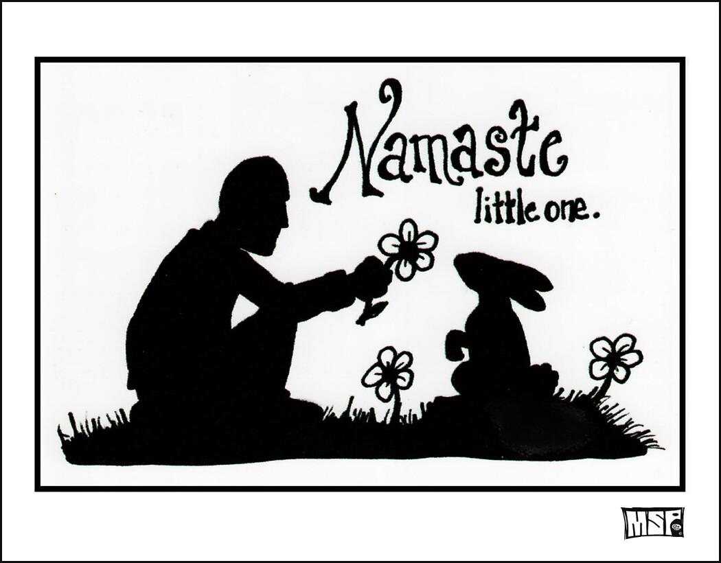 Namaste, Little One - Blank - Single Card