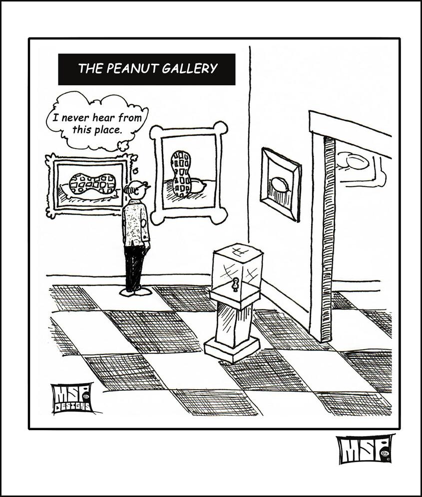 Peanut Gallery - Blank - Single Card