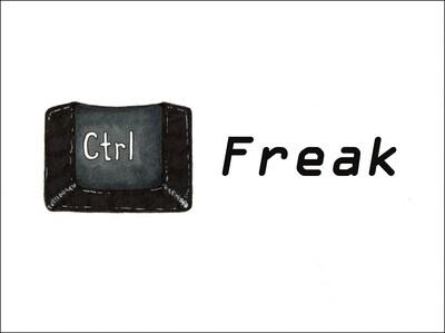 Control Freak - Blank - Single Card
