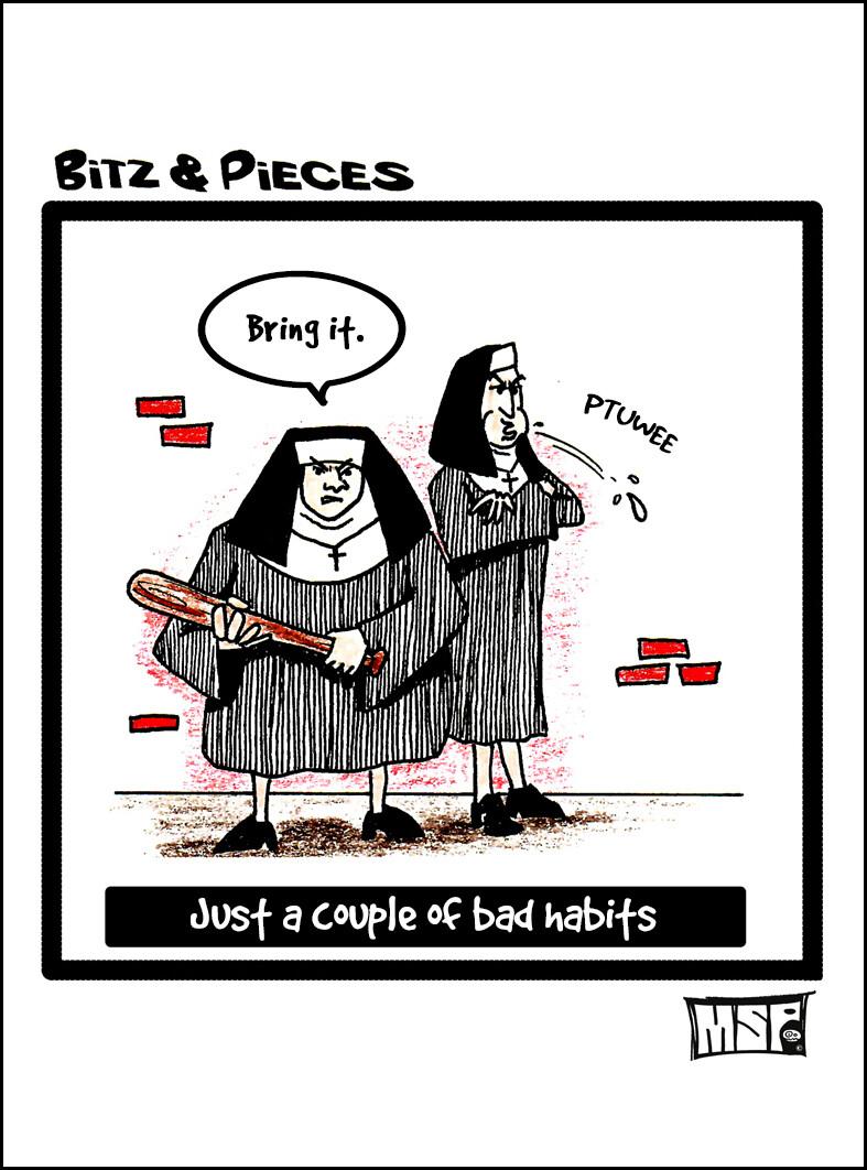 Bad Habits - Blank - Single Card