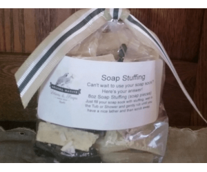Soap Stuffing with Sock