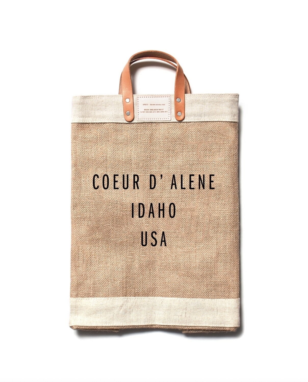 Apolis - Lg Natural CDA Market Bag