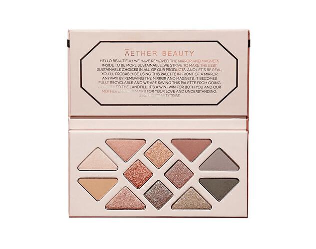 Aether Rose Quartz Gemstone Palette