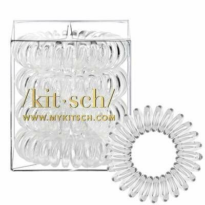 Transparent Hair Coils - 4pack
