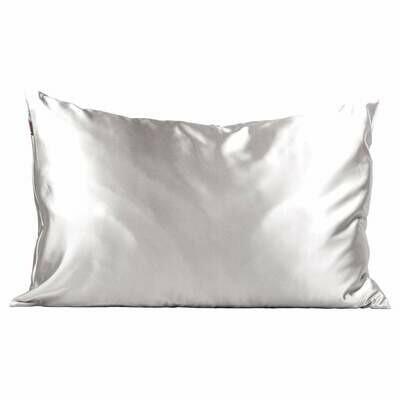 Satin Pillow Case - Silver