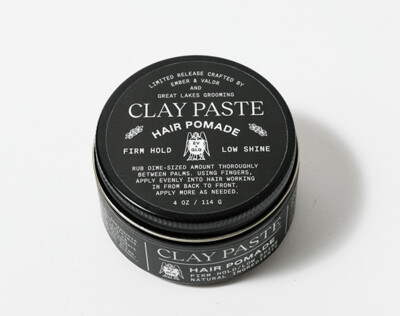 Clay Paste Hair Pomade