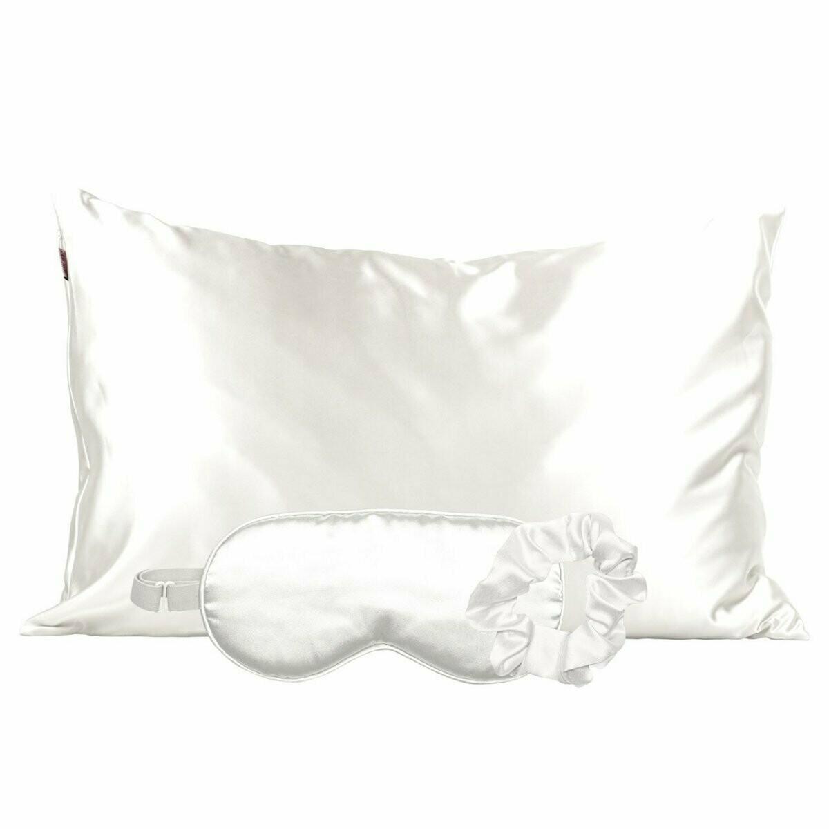 Satin Sleep Set - Ivory