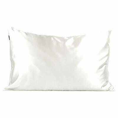 Satin Pillow Case - Ivory