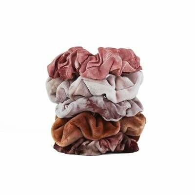Rust Tie Dy - Scrunchies