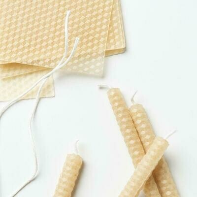 Pure Beeswax Candle-Making Kit