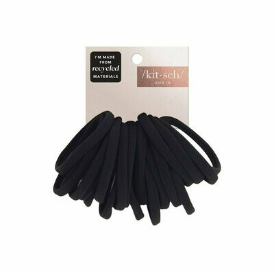 Recycled Nylon Elastics-Black-20pc