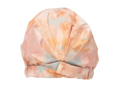 Luxe Shower Cap-Sunset Tie Dye