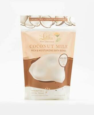 Mini Bath Bombs - Coconut Milk