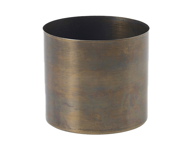 Build Your Own Candle - Brass 9oz Wood Wick