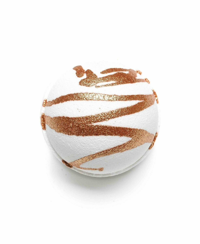 Sun Tans and Coconuts – Hand Decorated Bath Bomb
