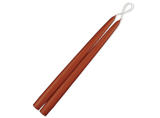 """12"""" Taper Candles - Rust"""