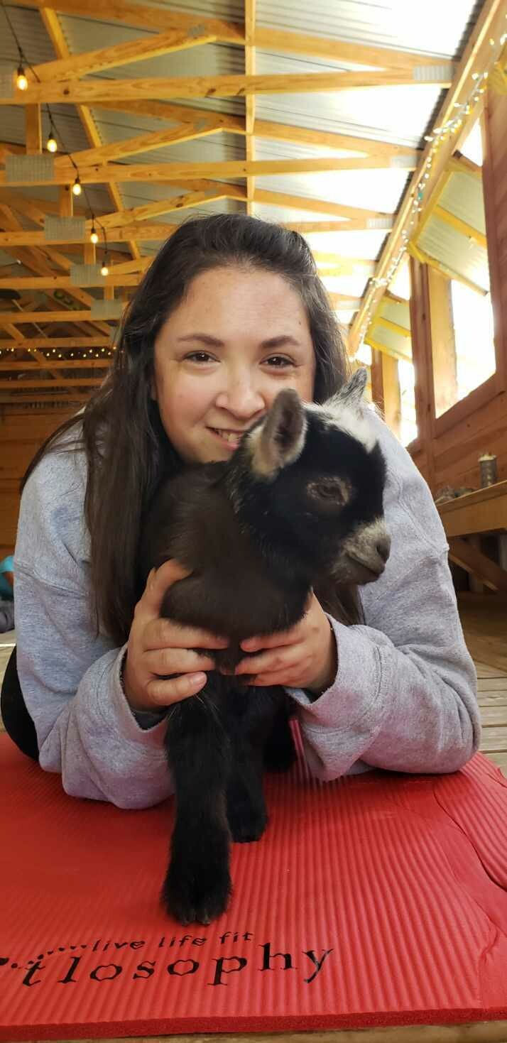Goat Cuddles and Wine (Adults)- Friday, Feb. 14