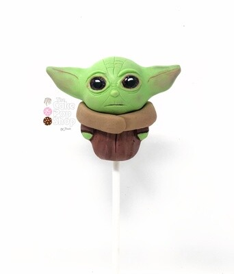 Baby Yoda advanced cake pop class