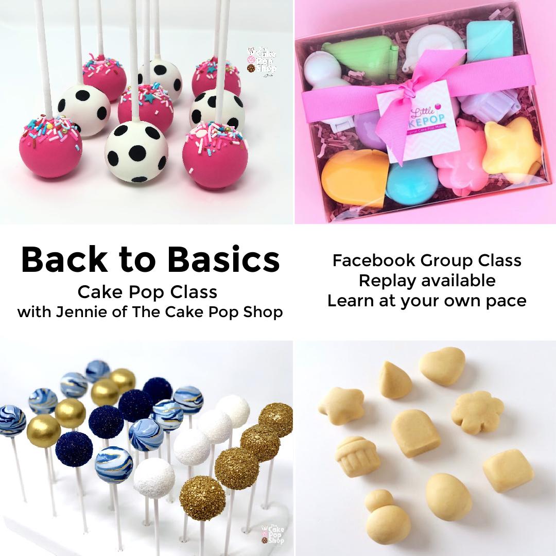 Back to Basics Cake Pop Class