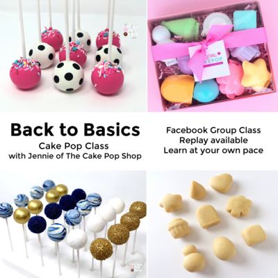 Back to Basics Cake Pop Class