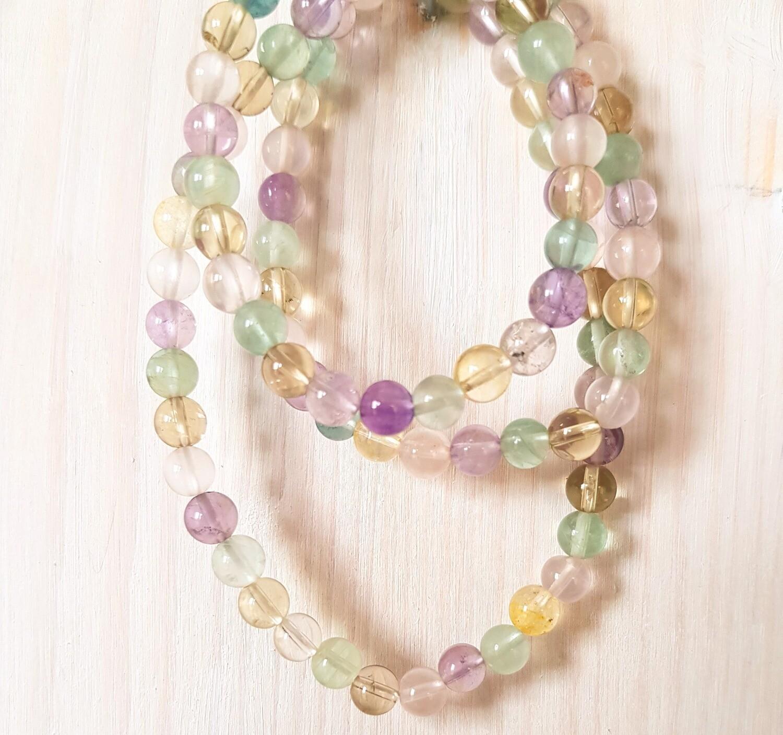 Bracelet 3 tours en perles de cristal