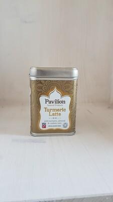 Préparation pour boisson bienfaisante au lait vegetal et curcuma Marque Pavilion Health
