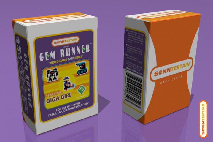 Gem Runner - Starring Giga Girl