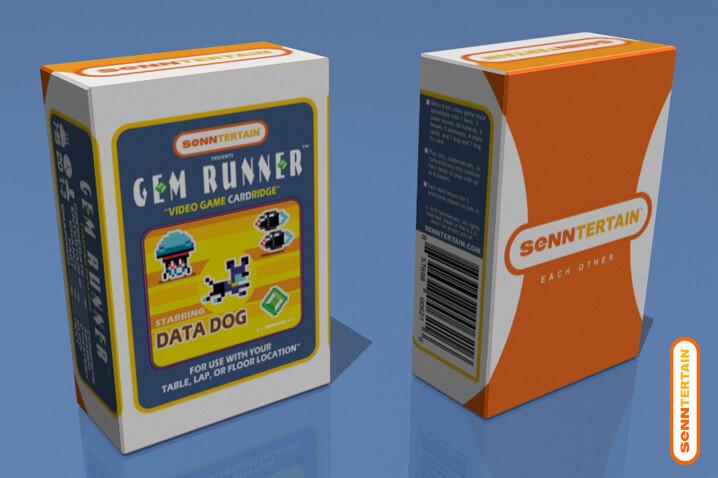 Gem Runner - Starring Data Dog